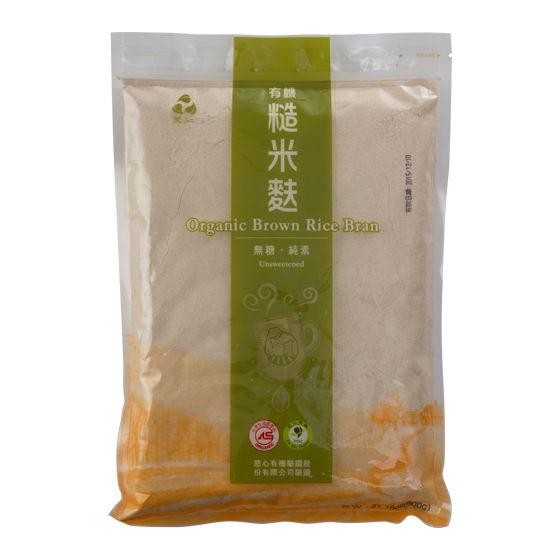里仁有機糙米麩-無糖600g備貨需4-7天