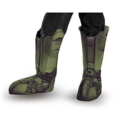 Disguise Master Chief Child Boot Covers Costume