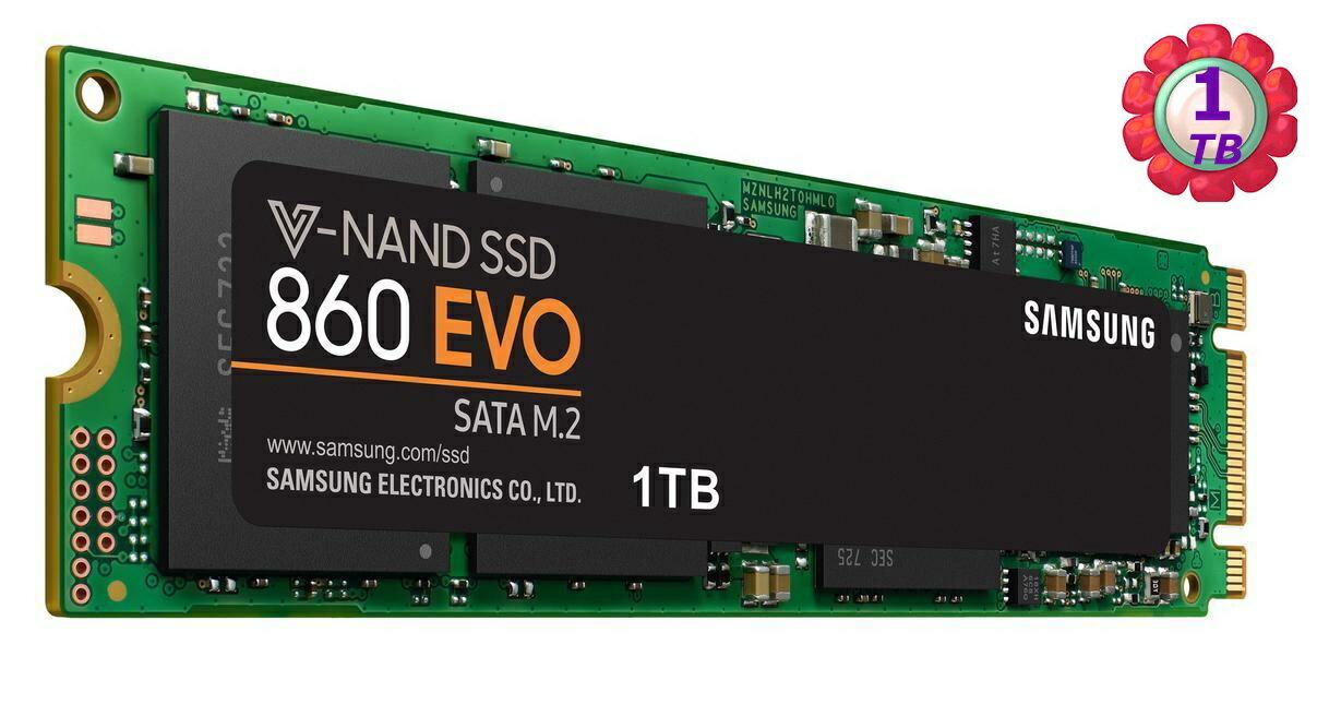 SAMSUNG 860 EVO 1TB M.2 MZ-N6E1T0BW SSD SATA 6Gb/s 固態硬碟