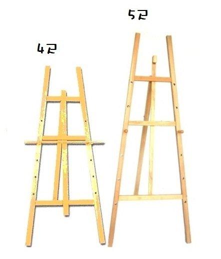 聯盟文具 鐵人 5尺 室內木製大畫架 E28500