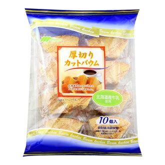 丸金北海道厚切年輪蛋糕270g【愛買】