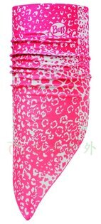 【【蘋果戶外】】BF108610西班牙BUFF夏季斜三角巾櫻之舞SILVER銀離子魔術頭巾機車口罩