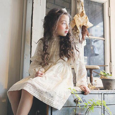 17春~法式優雅蕾絲縷空洋裝♥(5~13)