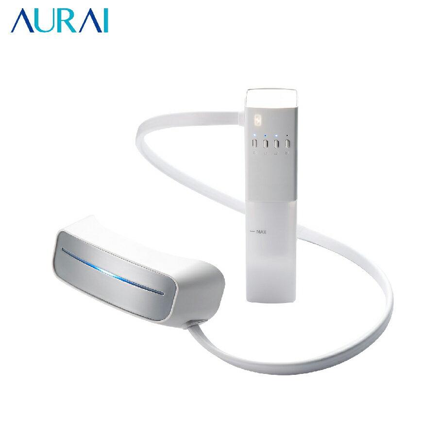 羅森資訊羅森資訊 AURAI EM01 水波式冷熱敷按摩眼罩 按摩眼罩 眼部按摩器 眼部紓壓 乾眼症 台灣製造