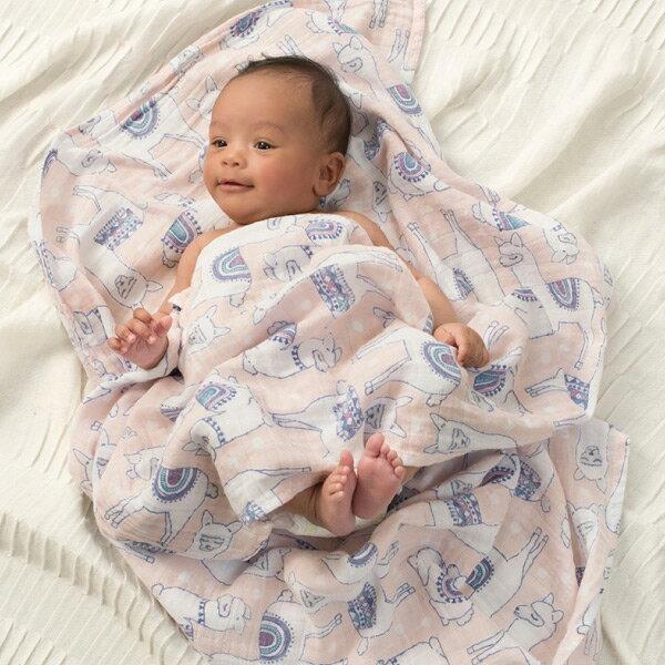 美國 Aden + Anais 純棉包巾4入|禮盒|彌月(5款可選)好窩生活節 2