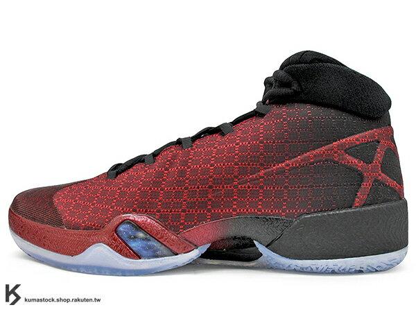 [27.5cm] 2016 雷霆隊 Russell Westbrook 代言 新生代飛人 限量發售 史上最強 NIKE AIR JORDAN XXX 30 GYM RED 紅黑 飛人 3D PERFORMANCE WOVEN 功能性編織鞋面 FLIGHT PLATE + ZOOM 避震科技傳導 籃球鞋 (811006-601) !