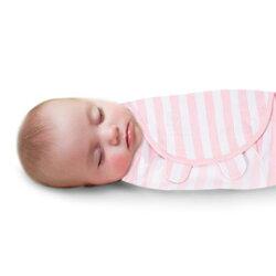 《美國Summer infant》聰明懶人育兒包巾-粉嫩條紋(加大) ㊣原廠授權總代理公司貨