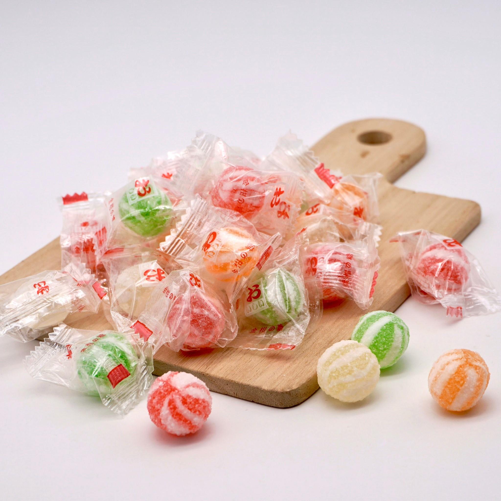 嘴甜甜 金柑糖 200公克 糖果系列 小貝京 柑仔糖 橘子糖 糖果 喜糖 素食 現貨