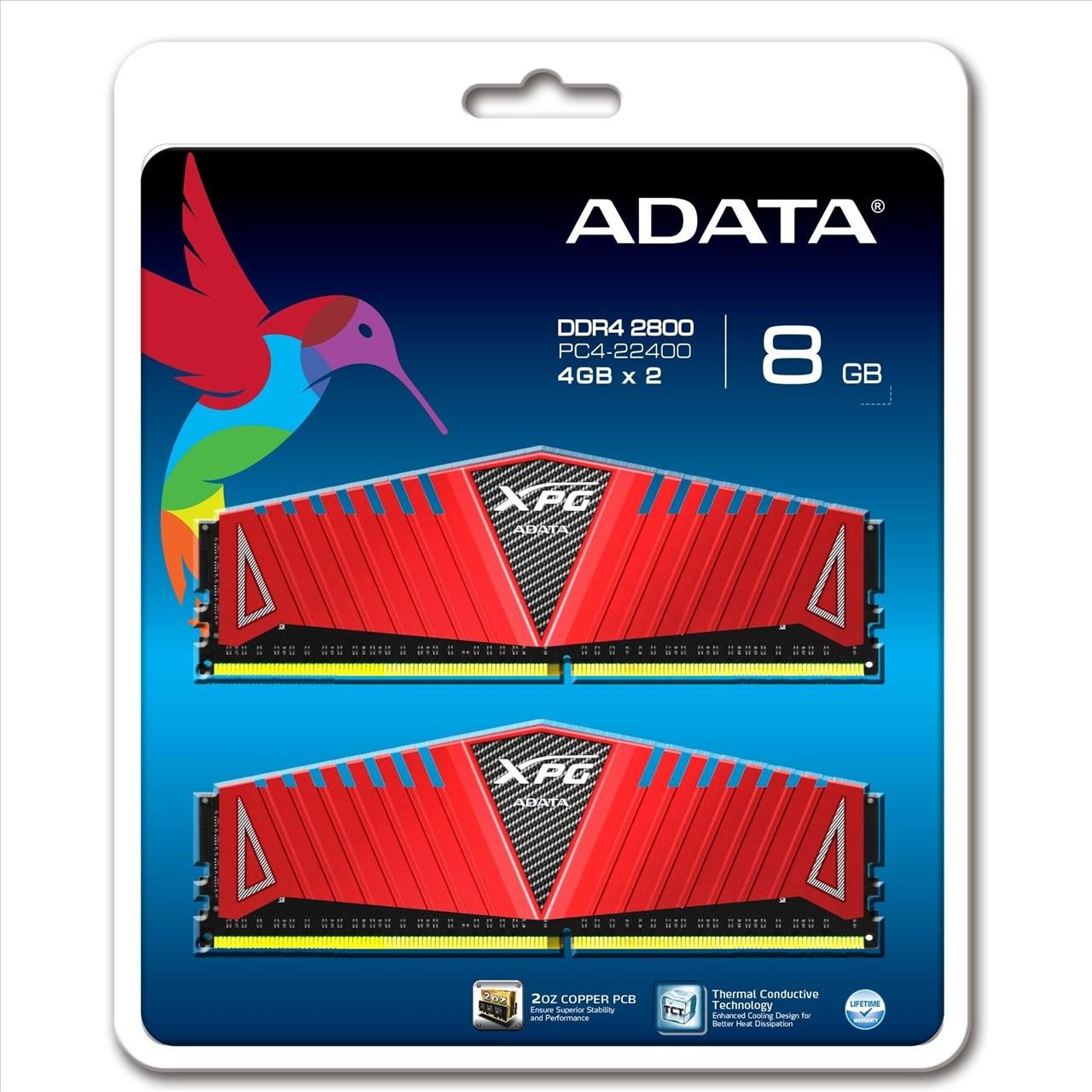 ~新風尚潮流~威剛 XPG Z1 超頻 8GB DDR4~2800 終保 AX4U2800