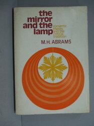【書寶二手書T7/原文小說_PFB】The mirror and the lamp