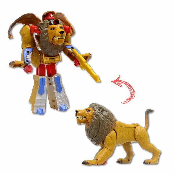 【888便利購】獅子變體機器人(ST)(2556C)