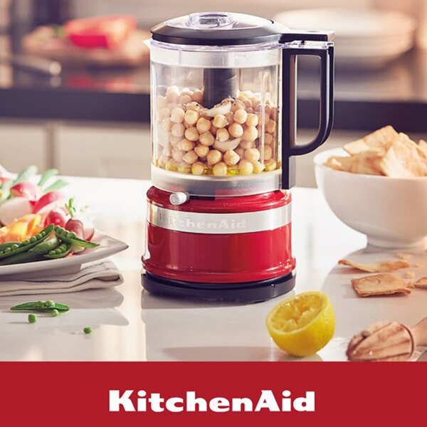 KitchenAid 5 cup 3KFC0516T食物調理機(新版)  熱情紅