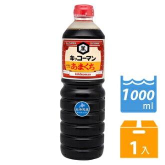 日本龜甲萬醬油-甘口1L /罐