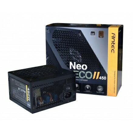ANTEC NEO ECO II 450 (全日系電容 DC-DC架構)(450W/80+銅) 電源供應器 PC電源 POWER【迪特軍】