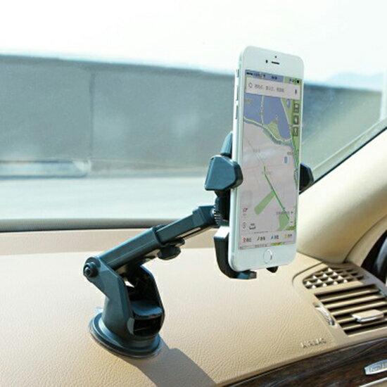 ♚MYCOLOR♚汽車吸盤手機支架車載手機出風口導航旋轉桌面音樂手遊多功能【S57-1】