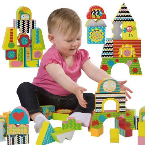 【奇買親子購物網】美國ALEX 麥斯寶寶創建積木