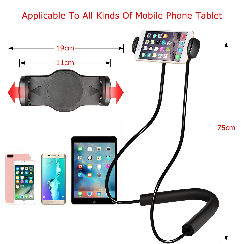 Cell Phone Holder Lazy Bracket Free Rotating Mounts 3