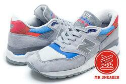 ☆Mr.Sneaker☆NEW BALANCE 998 M998 Made in USA 美製 灰色 藍 粉 跳色 男段