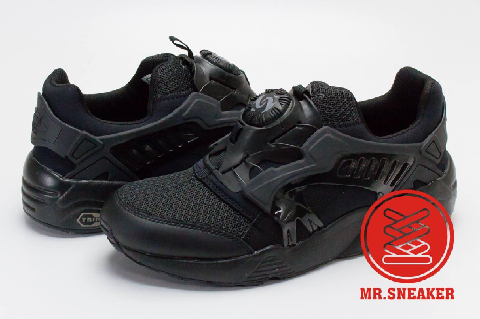 ☆Mr.Sneaker☆ Puma Disc Blaze Trinomic CT 轉盤 非武士鞋 後提把 蜂巢避震 男女段 黑