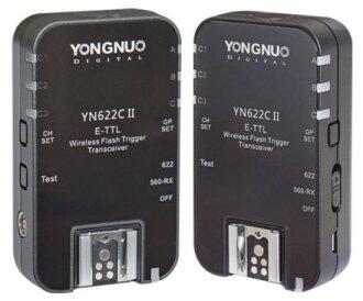[享樂攝影]永諾 2代 YN-622C 622C for Canon E-TTL 閃燈觸發器 一組 輔助對焦燈 保固一年 6D 5D3 700D 70D G7X 7D