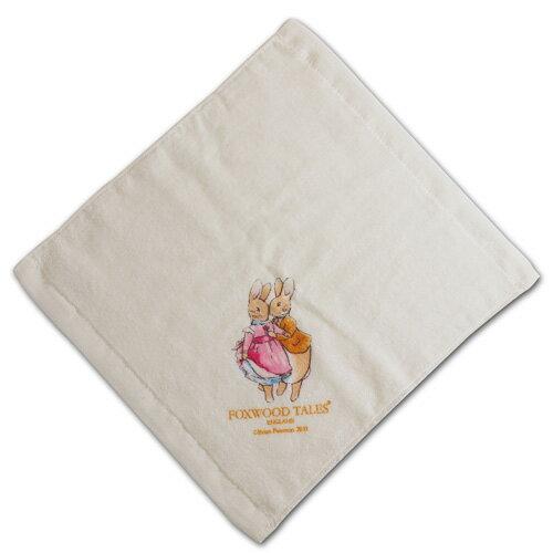 『121婦嬰用品館』狐狸村 嬰兒細絨小方巾 3