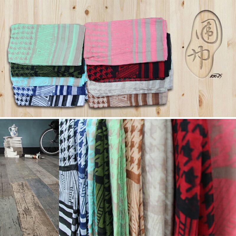 小玩子 圍巾 披肩 柔軟 高雅 舒適 造型 時尚 冬天 溫暖 禦寒 精細 RK-430