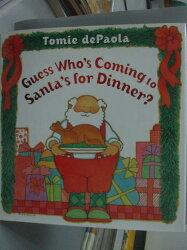 【書寶二手書T5/少年童書_XCB】Guess Who's Coming to Santa's for Dinner?_
