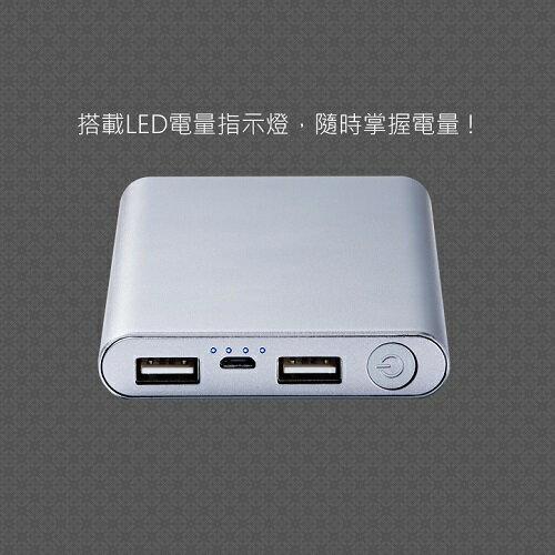 MINIQ 10000mAh 雙輸出行動電源MD-BP-036(金) [大買家] 3