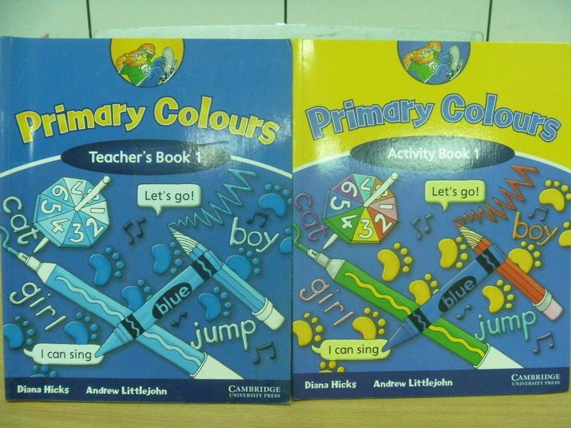【書寶二手書T5/語言學習_ZKS】Primary colours_Book1_2本合售_原價1110