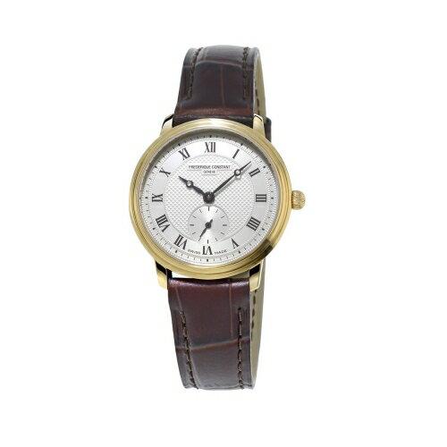CONSTANT 典雅精緻超薄女腕錶/10m鍍金/FC-235M1S5