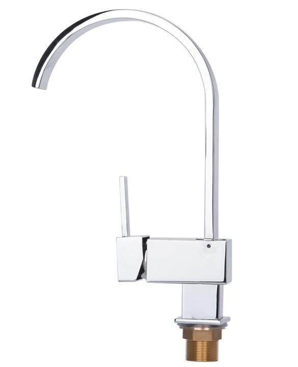 Contemporary Kitchen Bar / Bathroom Vessel Sink Faucet Swivel Spout 1