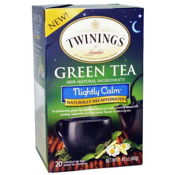 ❤Twinings 現貨 晚間安神茶 /夜間平靜茶❤ 不含咖啡因 2g*20包/盒