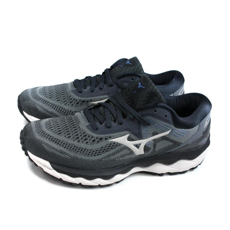 美津濃 Mizuno WAVE SKY 4 SW 慢跑鞋 運動鞋 深灰色 男鞋 JIGC201140 no115 0