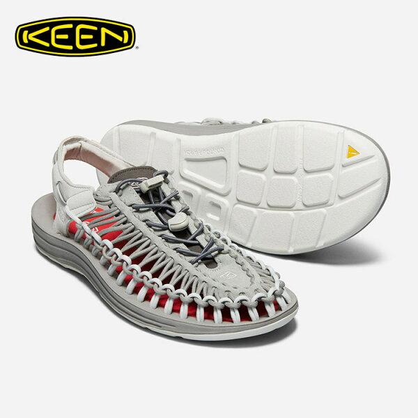 KEEN男款織帶涼鞋Uneek1018681城市綠洲(編繩結構、輕量、戶外休閒鞋、運動涼鞋)