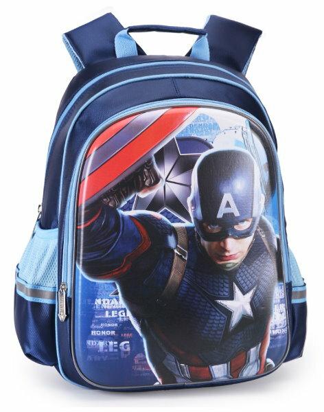 正版 美國隊長 後背包 小學生書包1-4年級 小男生最愛-BA5047