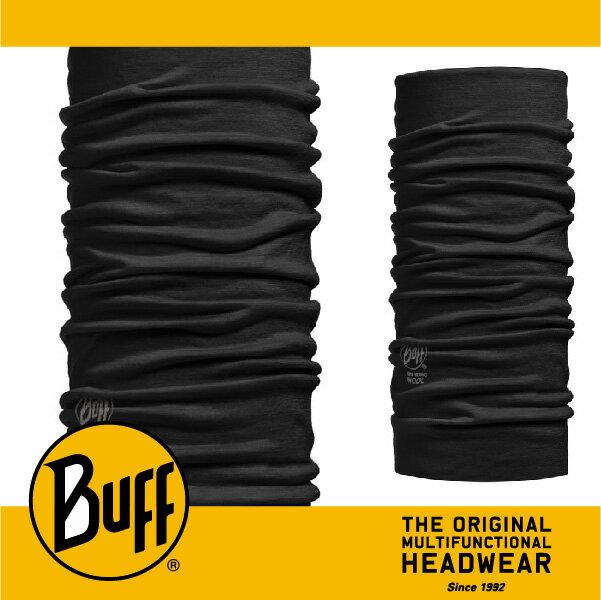 BUFF 西班牙魔術頭巾 美麗諾羊毛系列 [黑色幽默] BF100637
