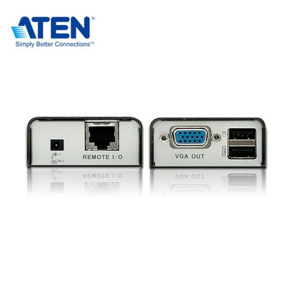 ATEN CE100 USB VGA Cat 5迷你型KVM延長器 (1280 x 1024@100公尺)