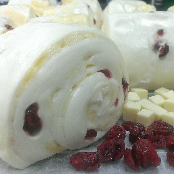 【四季香頂級手工饅頭】鮮奶蔓越莓 (一入)