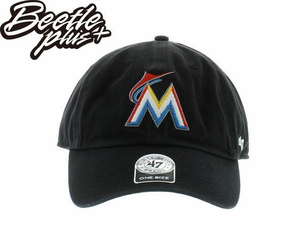 BEETLE 47 BRAND 老帽 邁阿密 馬林魚 MIAMI MARLINS DAD HAT 陳偉殷 MLB 黑 MN-364 0