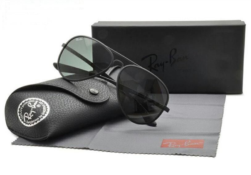 Ray Ban 雷朋 黑 太陽眼鏡 RB4180 限量 輕量化 0