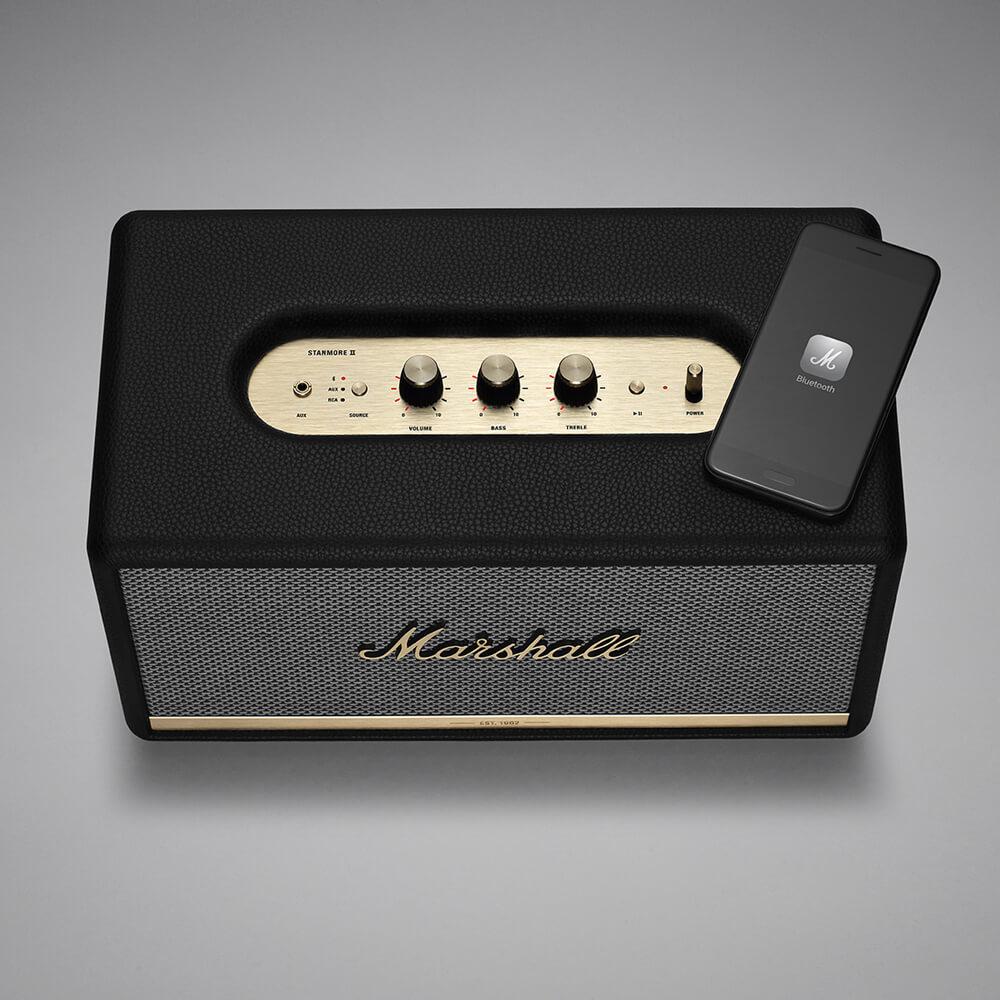 【現貨】Marshall Stanmore II Bluetooth 藍牙喇叭-經典黑