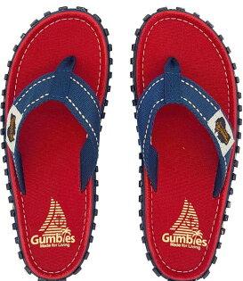 【GUMBIES澳大利亞】人字拖鞋新款夾腳防滑拖鞋居家戶外全功能拖鞋-紅002