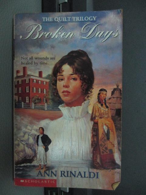 【書寶二手書T3/原文小說_NEN】Brcken Day's_Ann Rinaldi