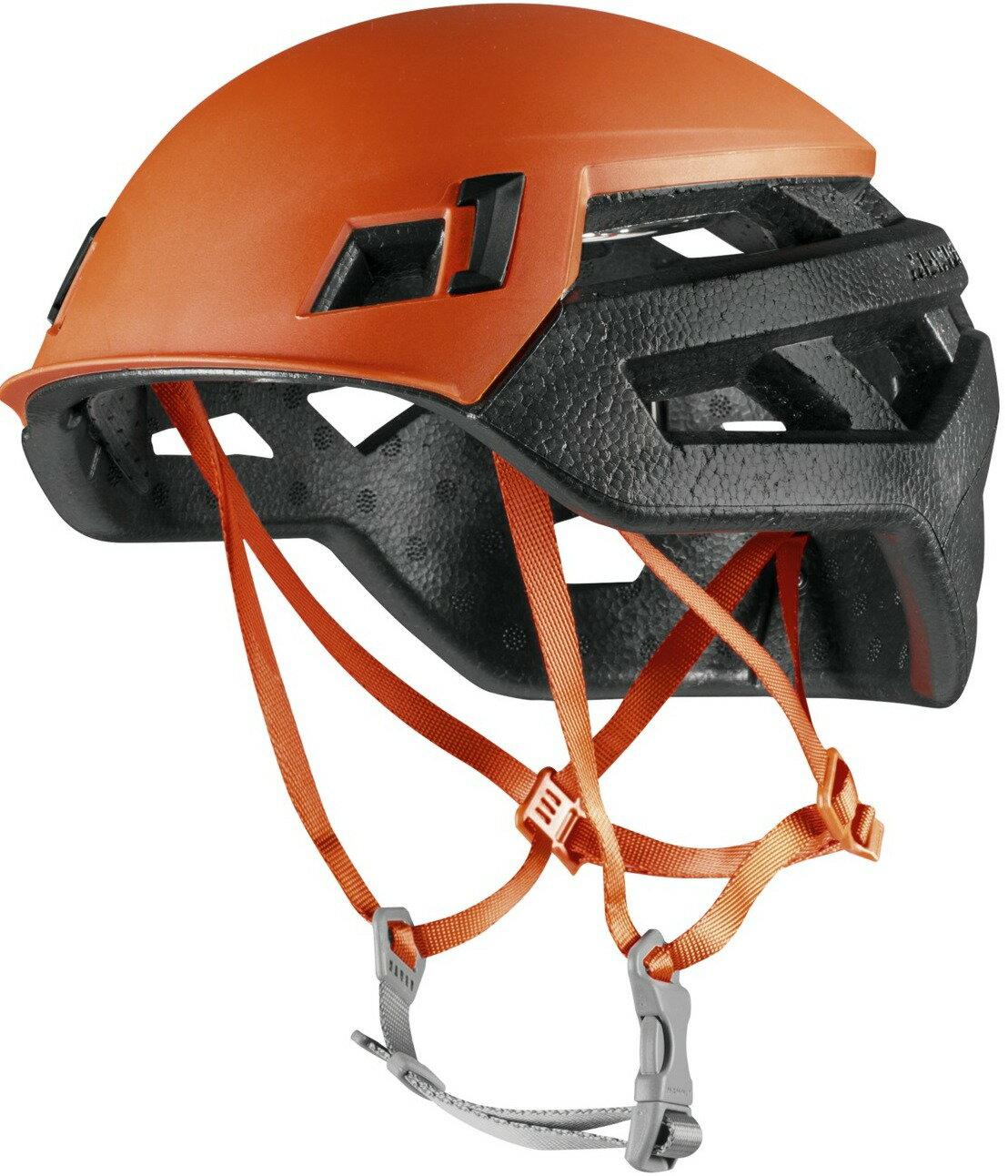 Mammut 長毛象 瑞士長毛象頭盔/岩盔 Wall Rider 2220-00140 2016 深橙 台北山水