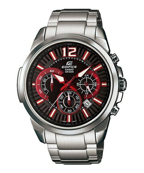 CASIO EDIFICE EFR-535D-1A4大錶徑時尚腕錶/黑面46.3mm