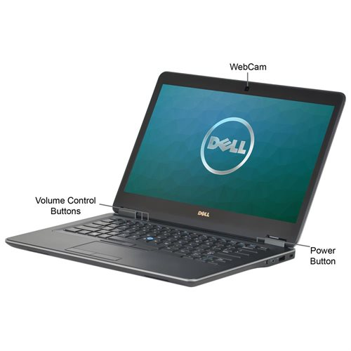 "Dell Latitude E7440 Ultrabook Core i5-2.0GHz, 8GB RAM, 256GB SSD, 14"", Win 10 Pro (64-bit), CAM 1"