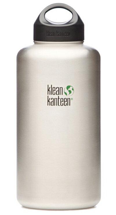 【鄉野情戶外用品店】 Klean Kanteen |美國| Wide可利不鏽鋼寬口水壺/K64WSSL 【1900ml】