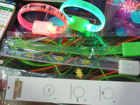 夜跑手環 夜光手環 夜跑LED手環 閃光手鐲 LED發光手環 矽膠發光手環/一件1000入{促49}