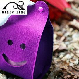 【【蘋果戶外】】Ridge Line OT867277YE 韓國 彩色微笑面紙盒 紫色 放置便利/可做吊飾物