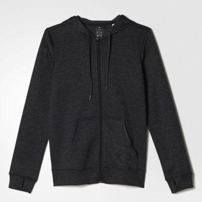 Adidas TEAM SPIRIT 女裝 連帽外套 Climawarm 保暖 內刷毛 慢跑 【運動世界】 AY7623